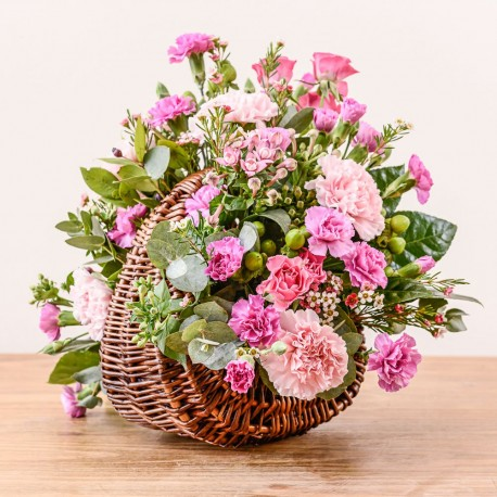 Sienna Flower Basket